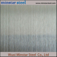 430 Garis Rambut Brushed Surface Stainless Steel Tebal 0.8mm